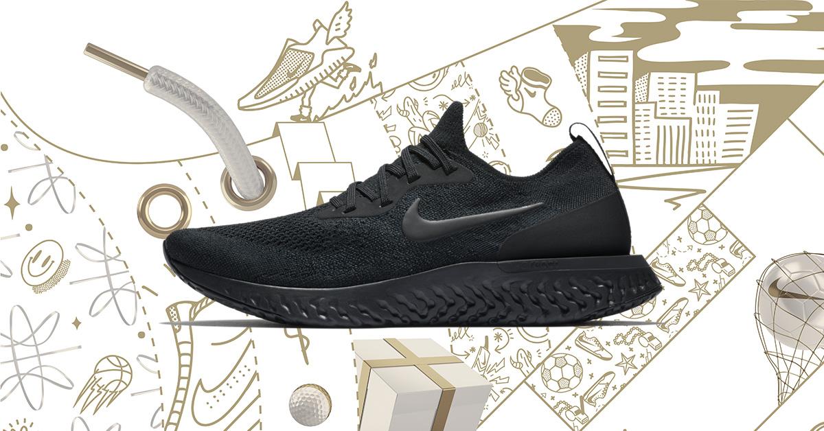 Spar 40% på Nike Epic React Løbeskoene